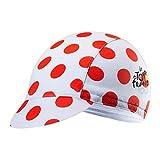 JERKKY Ciclismo Sombrero de Secado rápido Transpirable El Sudor Absorbe la Bicicleta Gorra de Sol Deportes al Aire Libre Senderismo Pesca Aparejos Tamaño Libre Montar Unisex Protector de Cabeza Rojo