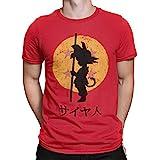 Camisetas La Colmena 164 - Looking for The Dragon Balls (ddjvigo) (Roja, L)