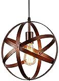Lámpara del Techo Vintage, Retro Colgante de Techo, Industrial Luz de Techo E27 para Comedor, Barra, Café 30cm