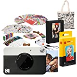 Kodak PRINTOMATIC Cámara de impresión instantánea (Negro) Paquete