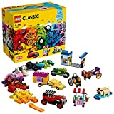 LEGO 10715 Classic Ladrillos sobre Ruedas, Juego de Construcción Educativo y Divertido para Niñas y Niños