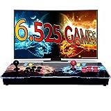 Unicview Pandora Box 3D, Retro Consola Maquina recreativa Arcade Video, Joystick Arcade, Versiones Originales 6525 Juegos Retro, Incluye Juegos 2D y 3D. Función de Guardar Partida.