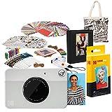 Kodak PRINTOMATIC Cámara de impresión instantánea (Gris) Paquete