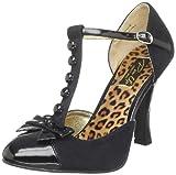 Pin Up Couture Smitt10/bmcsue-bpt Zapatos con tacón mujer, Negro (Black), 35 EU (2 UK)