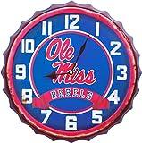 Hanna's Handiworks University of Mississippi - Reloj con Tapa para Botella