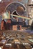 Pink Floyd Póster De Pared Metal Retro Placa Cartel Cartel De Chapa Vintage Placas Decorativas Poster por Café Bar Garaje Salón Dormitorio