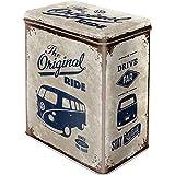 Nostalgic-Art Caja metálica de Estilo Retro - VW Bulli The Original Ride