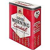 Nostalgic-Art 30328 Cereal | Vorratsdose XL | Aufbewahrungs-Box | Cornflakes Blech-Dose | Metall Tarro, Metal, 19 x 8 x 26 cm