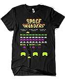 4188-Camiseta Premium, Space Invaders-S