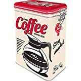 Nostalgic-Art - Caja de café de Lata (aromatizada) 31105de Estados Unidos Strong Coffee Served Here