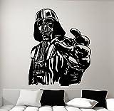 Vinilo de pared, diseño Darth Vader de Star Wars, talla S