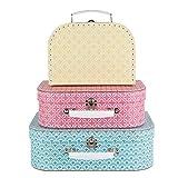 Sass & Belle Moroccan (Set of 3) Geometrics Suitcases