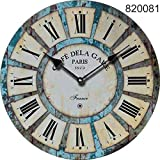 Bigfamily Vintage reloj de pared reloj de cuarzo Mute Home Living colgante decoracion Decoracion