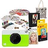 Kodak PRINTOMATIC Cámara de impresión instantánea (Verde) Paquete