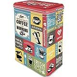 Nostalgic-Art Caja de café Retro Kitchen, Plastic, Diseño Vintage, 1,3 l