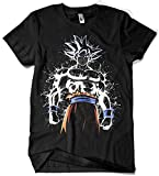 Camisetas La Colmena 4030 - Ultra Instinct Splatter (albertocubatas) L