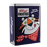 KELLOGG'S KG30682 - Caja cereales, metal, azul y blanco, 18,5 x 10,3 x 25 cm