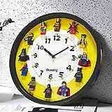 GSJDD Reloj De Pared, Tapa De Botella Reloj De Pared 3D, Cerveza Retro, Vino, Decoración De Reloj De Pared con Tapa De Botella, Relojes De Pared con Pilas, Sin Tictac, Decoración del Hogar.