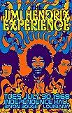 Jimi Hendrix Concert Póster de Pared Metal Creativo Placa Decorativa Cartel de Chapa Placas Vintage Decoración Pared Arte Muestra para Bar Club Café